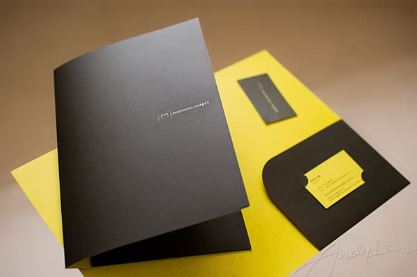 identity design for memento images