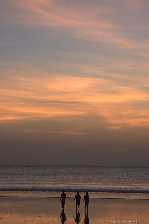Sunset_on_Kuta_Beach