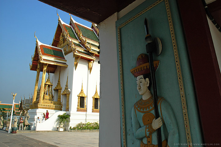 Wat Phra Kaew Guardian Composition in Landscape Photography