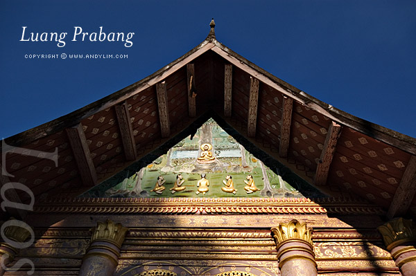 laos prabang wataham Composition in Landscape Photography