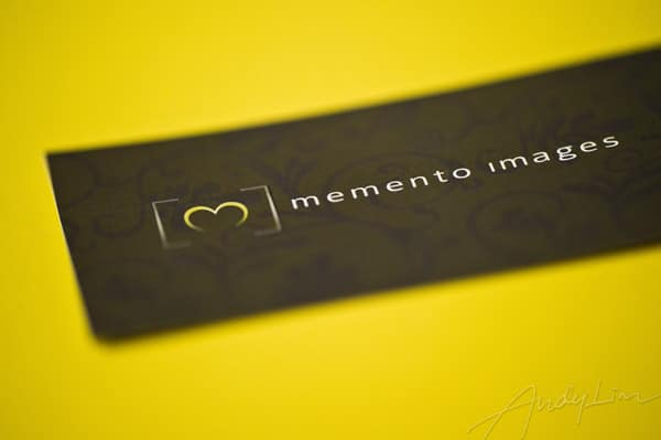 identity design for memento images